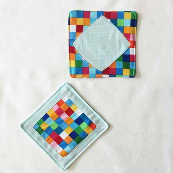 Reverse Applique Coasters