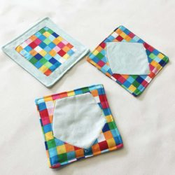 Reverse Applique Coasters