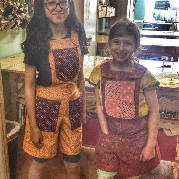 Kids Bib Overall Shorts