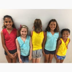 Kids Criss Cross Stretchy Tank Top