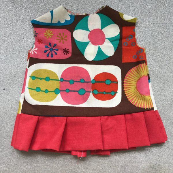 Doll Ruffled Mini Dress